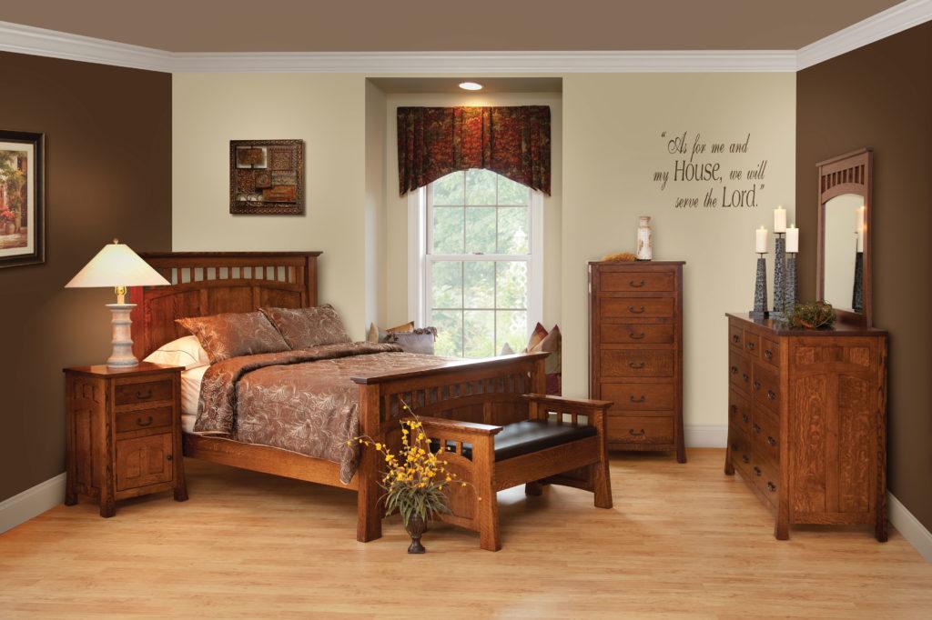 bridgeport mission bedroom collection
