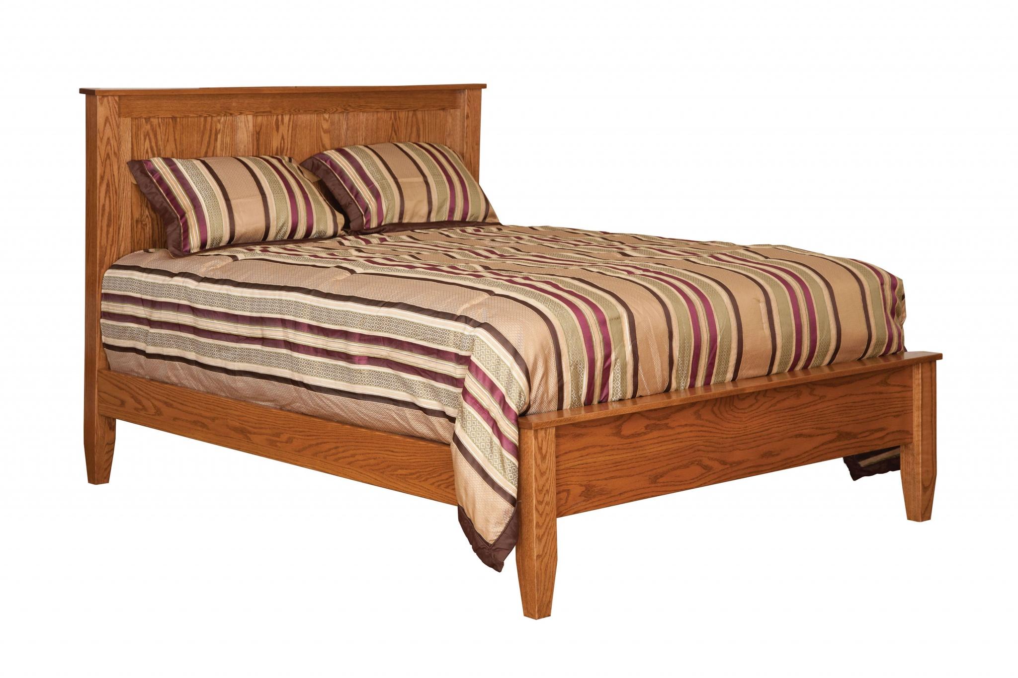 English Shaker Panel Bed