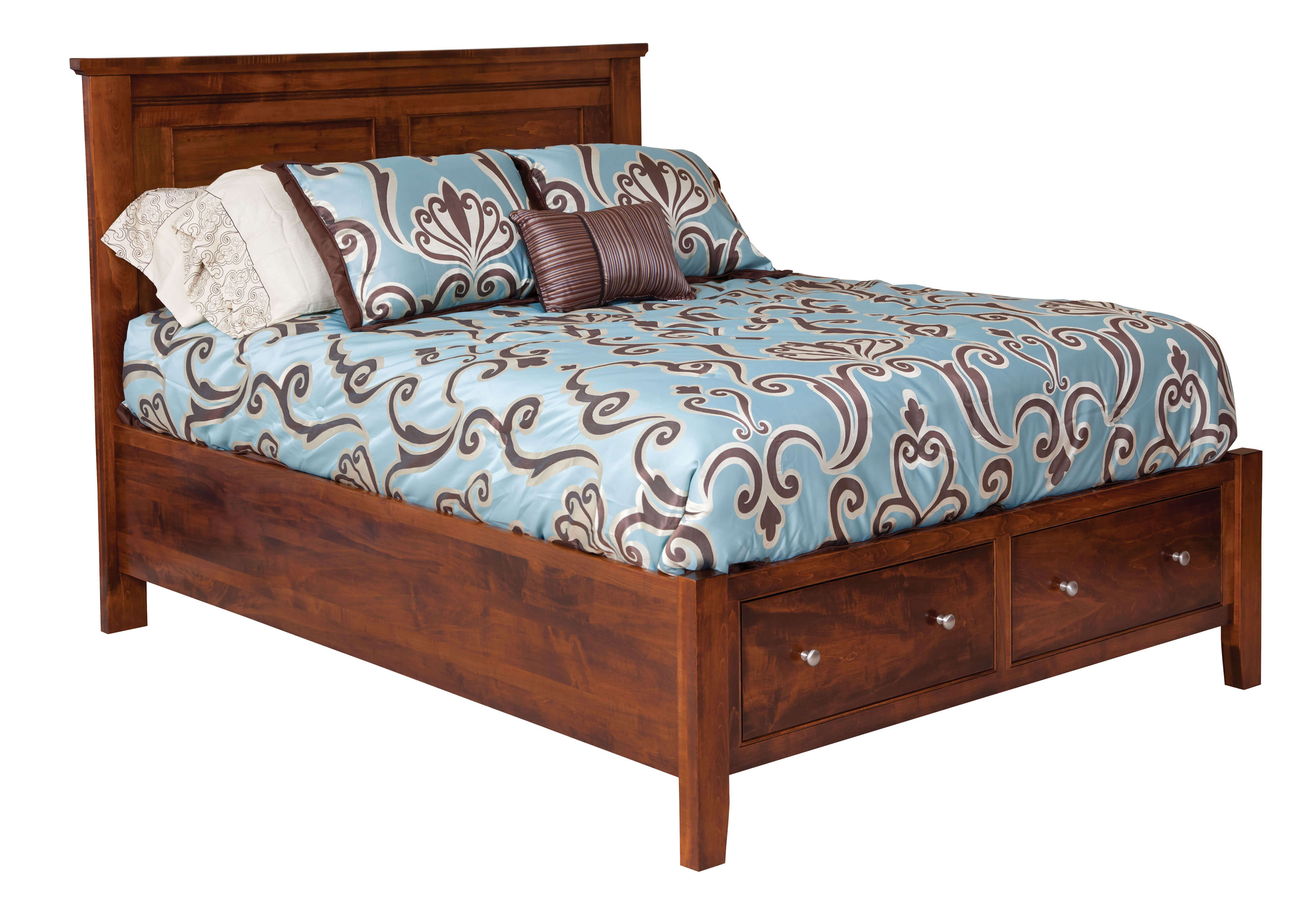 Hyland Park Panel Bed