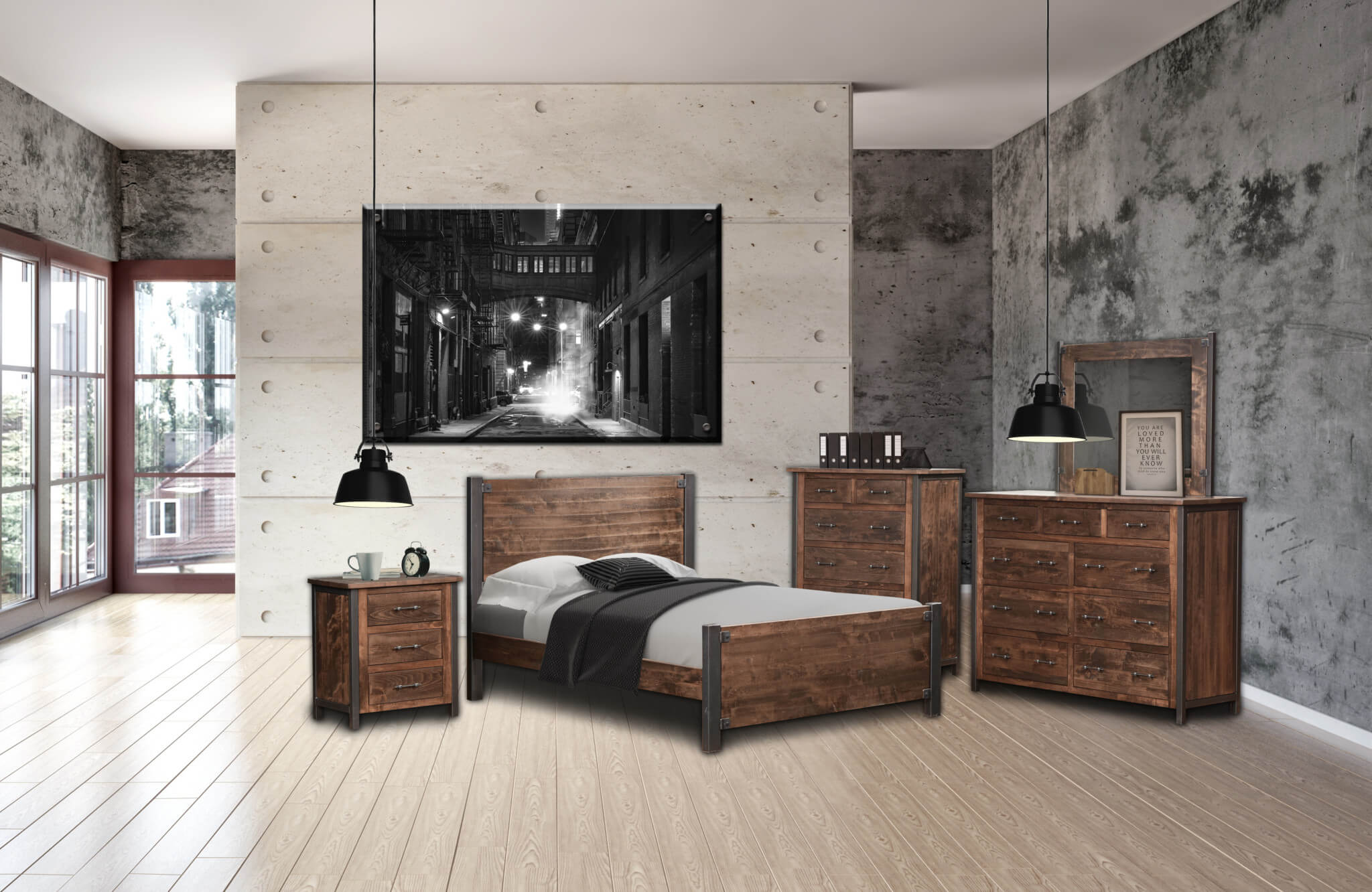 structura II bedroom furniture collection